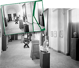 Roma - British School. Restauro e stampa di negativi su vetro anni '20.