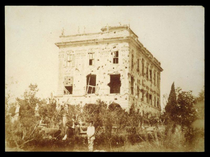 Stefano Lecchi, 1849, carta salata, 162x223 mm Villa Valentini